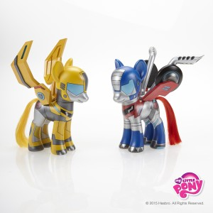 Custom My Little Pony Transformers for International Day of Friendship - Press Release
