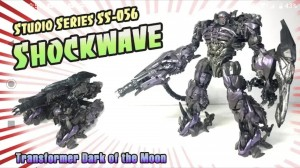 New Video Review of Transformers Studio Series 56 Dark of the Moon Leader Class Shockwave
