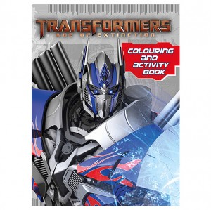 Transformers News: Age Of Extinction Color, Sticker And Activity Books Now Available In Australia