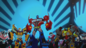 "Transformers News: Transformers Cyberverse cartoon episode 18 finale, ""Eruption,"" on Hasbro's YouTube"