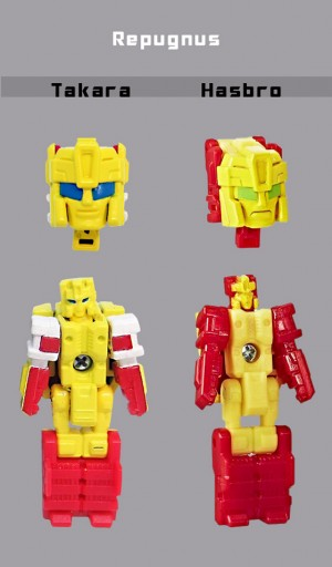 Larger Images and Comparisons of Takara Transformers Legends Kickback, Brawn and Triggerhappy