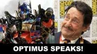 Transformers News: SDCC 2012 Beyond The Trailer Peter Cullen Interview