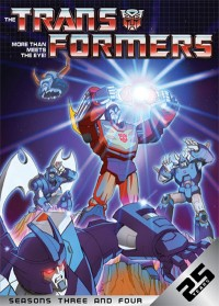 Transformers News: Shout! Factory Releases G1 Seasons 3 and 4 on DVD-- TODAY!