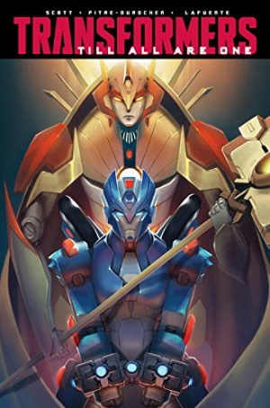 IDW Transformers: Till All Are One Volume 3 TPB Listed on Amazon.com