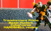 Transformers News: Video Review: Transformers Prime Beast Hunters Cyberverse Commander Hardshell