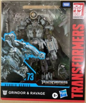First Look at Transformers Studio Series SS 73 Grindor and Ravage