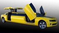 Transformers News: Transformers Bumblebee Camaro Stretch Limo