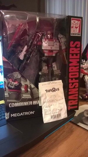 Transformers News: Combiner Wars Leader Class Megatron (G1 Deco) Found At US Retail