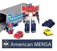 Transformers News: Transformers Featured In Mensa's Bracket Challenge