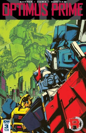 Transformers News: IDW Optimus Prime #3 Full Preview