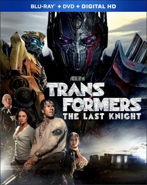 Transformers News: Transformers: The Last Knight Blu-Ray details