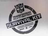 "Extensive gallery of Activision's Transformers: Fall of Cybertron ""Survival Kit"""