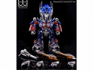 Transformers News: Official Images: Hybrid Metal Figuration #015 Optimus Prime