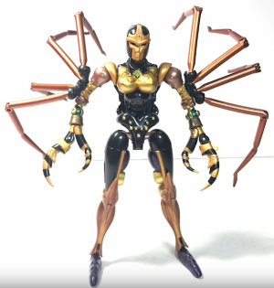 Transformers News: Video Review of Takara Tomy Transformers Masterpiece MP-46 Blackwidow Blackarachnia