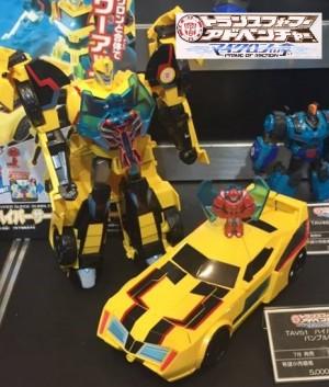 TakaraTomy Transformers Adventure: Tokyo Toy Show Display