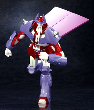 Transformers News: Official Images of ArtStorm EX Gokin Alpha Trion