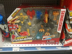 Hero Mashers Bumblebee and Strafe Team Pack Spotted at Retail