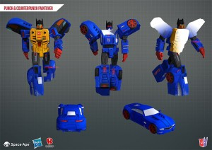 Transformers News: Transformers Earth Wars Event Friendly Fire With Punch aka Counterpunch On His (Their) Way