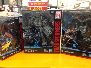 Transformers Studio Series Leader Class Grimlock and Blackout and all Wave 1 Found at Walmart Canada