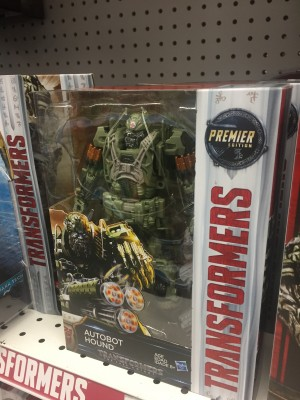Transformers News: Transformers: The Last Knight Voyager Class Hound Deco Variant Found