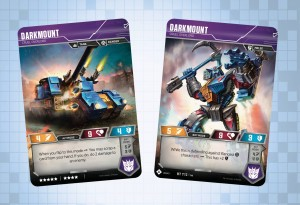 Darkmount and Deluxe Insecticon Ransack Revealed for Official Transformers Trading Card Game.