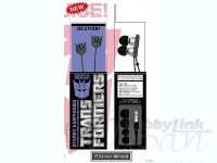 Transformers News: Newest Bandai products: Transformers headphones / ear buds!