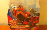 Transformers News: Video Review of Transformers Animated Ironhide