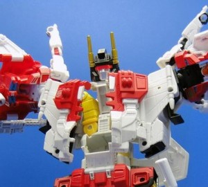 Transformers News: TakaraTomy Transformers Unite Warriors: Superion Assemble!