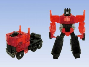 "Transformers News: Takara Tomy Transformers EZ Collection Clear ""Mystery of Convoy"""
