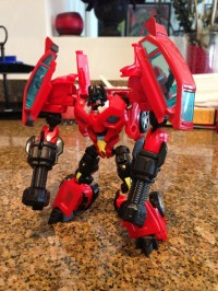 Transformers News: Hasbro Transformers Prime Frenzy Test Shot