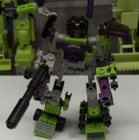 Transformers News: Video Review: Kre-O Transformers Micro Changers Combiners Devastator