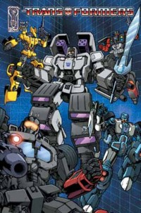 Two-Page Tease of Transformers 'Ongoing' #5