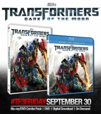 Official Press Release: Transformers Dark of the Moon Coming to Blu-ray and DVD on September 30th