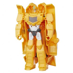 Video Review of New Robots in Disguise Combiner Force One Step Bumblebee