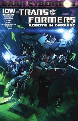 Transformers News: IDW Transformers: Robots in Disguise #25 (DC7) Preview