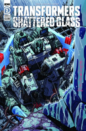 Five Page Preview of IDW Transformers: Shattered Glass #2