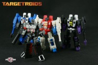 Transformers News: TFC AOD 2012 Exclusive TargetRoids Warp & Ultra and Shadow & Thunder!