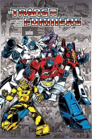 Transformers News: Guido Guidi Retro Transformers Artwork Now Available on Pyramid International