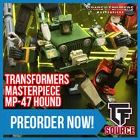 TFSource News - MP-47 Hound, XT Overhead & Deathwish, MP-13 Soundwave, TW Bulldog, NA Murphy & More!