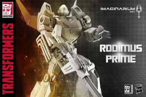 Transformers News: Prototype Image for Imaginarium Art Transformers Rodimus Prime