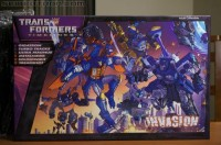 Transformers News: BotCon 2012 Coverage: Invasion Boxset Preview Gallery