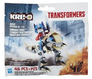 Transformers News: Transformers: Age of Extinction Kreon Optimus Prime and Grimlock Bagged Set