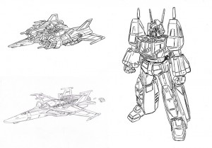 Takara Tomy Fan Choice Masterpiece Star Saber - Development Diary and Early Study Sketches