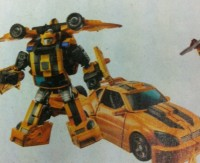 Transformers News: First Look at Reveal the Shield Bumblebee