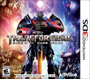 Activision's Transformers: Rise of the Dark Spark Cover Artwork