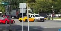 Transformers News: Bumblebee Camaro Gets Totalled, Bomb Scare to Blame