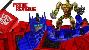 Optimus PRIMAL reviews Rhinox! (NEW PRIME reviews SERIES!)