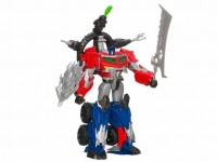 Transformers News: Transformers Prime Beast Hunters Ultimate Optimus Prime Now Available at ToysRUs.com