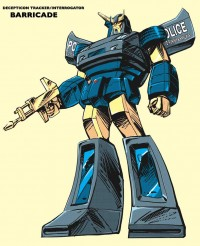 Transformers News: G1 Style Barricade and Neo-Seeker Art from Guido Guidi