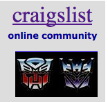 'craigslist' TRANSFORMERS 3 Movie Extra's Job Listing